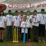 Samuel Laycock runners up at Cheshire Cricket